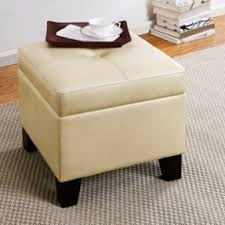leather cube storage ottoman foter