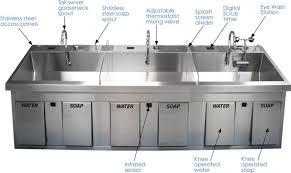 Scrub Sink large surgical scrub sinks features jpg