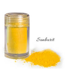 natural food coloring powder yellow 2g kitschcakes