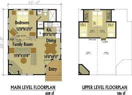 open floor plans with loft home plan small cottage plans with loft small guest house plans
