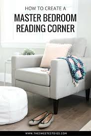 Reading Chair For Bedroom by One Room Challenge Creating A Master Bedroom Reading Corner The