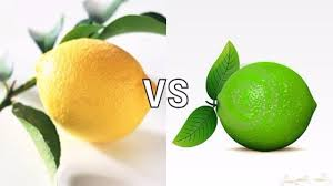 do you know the difference between lemon and lime youtube