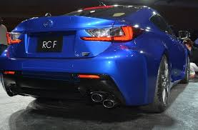 lexus rcf youtube 2015 lexus rc f review and unveiling at naias carponents
