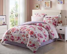 Pink And Brown Comforter Sets Floral Comforters And Bedding Sets Ebay