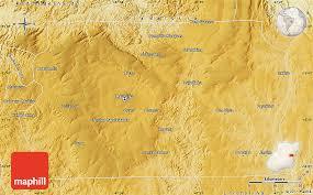 map of brasilia physical map of brasilia
