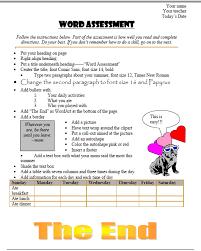 109 ms word skills assessment for grades 3 8 ask a tech teacher