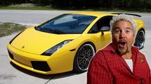 yellow lamborghini gallardo guy fieri u0027s 200k lamborghini stolen in elaborate heist eater