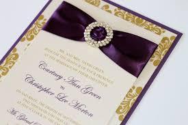 Damask Wedding Invitations Courtney Damask Wedding Invitation Embellished Wedding