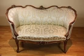 canap style louis xv a louis xv style walnut and decorative arts philips