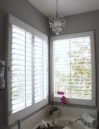 Plantation Shutters And Blinds White Plantation Shutters Design Ideas