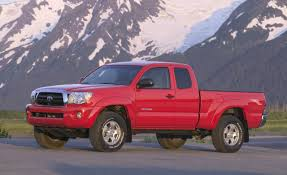 nissan tacoma 2006 2008 toyota tacoma review reviews car and driver