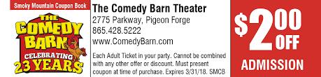 The Comedy Barn Theater 2017 2018 Coupon Bk Comedybarn Small Jpg