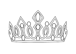 tiara coloring pages 6459