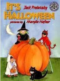 it u0027s halloween by jack prelutsky scholastic