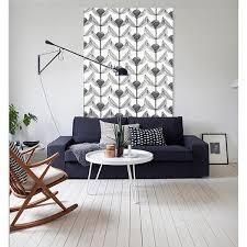 AlexElle Scandinavian Art  Interior Design Wall Art Cushions - Fabric wall designs