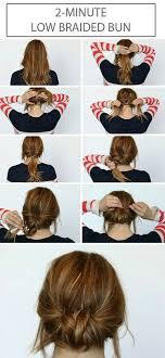 cute hairstyles you can do in 5 minutes 25 cute diy bun hairstyles