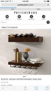 Pottery Barn Wine Rack Wall Wall Mounted Wine Rack And Glass Holder Hollywood Thing