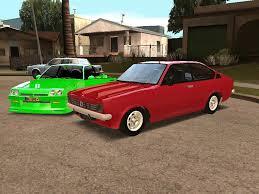 opel coupe opel kadett c coupe grand theft auto san andreas skin mods