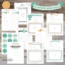 baby book ideas ultimate baby book miss designs