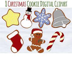 christmas clip art christmas cookies clipart holiday