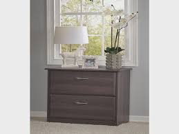 Bush Stanford Lateral File Cabinet Stanford Lateral File Cabinet Antique Black Hayneedle Bush