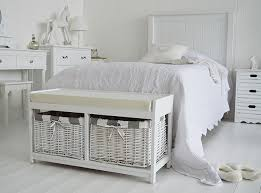 Storage Bench Bedroom Furniture by Gatsby White Storage Bench In Bedroom White Bedroom Furniture