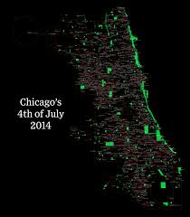 Crime Map Of Chicago by Fourth Of July U0027s Crime Spree Gapers Block Chicago