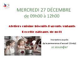 atelier cuisine parent enfant secours populaire français noeux les mines