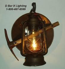 Bar Light Fixture Dx804 Rustic Lantern Light Fixture With Lantern Miners