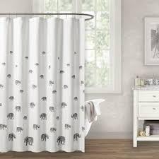elephant shower curtain wayfair