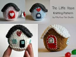 fifty four ten studio time to knit ornament presents