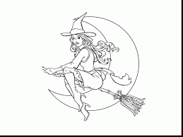 halloween witch coloring pages astounding halloween witch cat coloring pages printable with