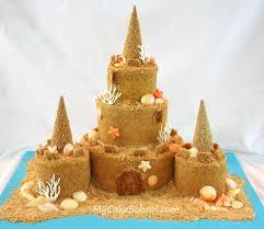 best 25 sand castle cakes ideas on pinterest castle cakes