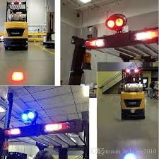 blue warning lights on forklifts 2018 new red blue forklift led light warehouse safety warning l