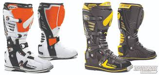 motocross boots review motocross action magazine mxa team tested forma dual pivot