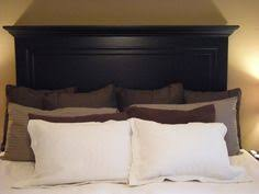 Antique Headboards King 5 Panel Onyx Black King Size Headboard With Legs From Vintage