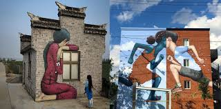artist paints stunning murals on sea walls in hawaii art sheep street artist transforms boring buildings all around the world