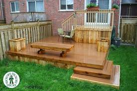 Deck Planters And Benches - planter bench plans myoutdoorplans free woodworking plans and deck
