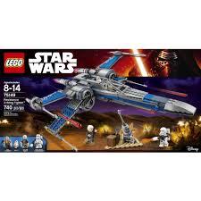 lego star wars target black friday lego star wars resistance x wing fighter 75149 walmart com