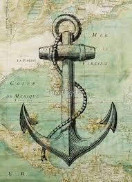 old anchor printing nautical pinterest decoupage