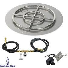 Gas Fire Pit Kit by Natural Gas Fire Pit Ebay