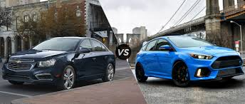chevy sonic vs ford focus 2016 chevy cruze vs 2016 ford focus