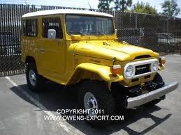 land cruiser fj40 owens export com 1976 toyota land cruiser fj40