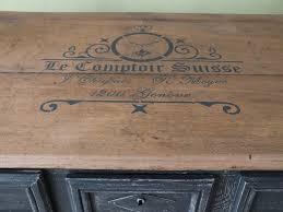 pochoir cuisine table de cuisine ancienne en bois 10 les 25 meilleures