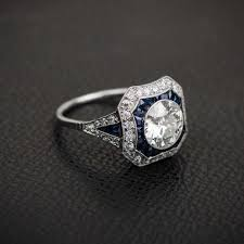 estate engagement rings estate jewelry jewelry new york ny weddingwire
