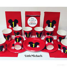 mickey mouse favor bags personalized mickey mouse birthday party package mickey mouse
