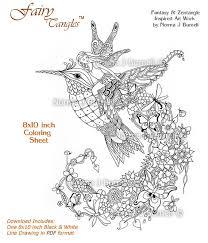follow fairy tangles printable coloring norma
