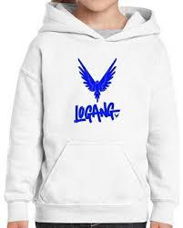 deals on logan paul logang maverick youth hoodie 100 cotton