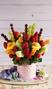 make your own edible fruit arrangements how to make an edible fruit bouquet recipe easy