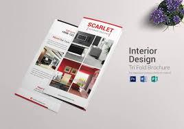 22 interior decoration brochure templates u2013 free word psd pdf